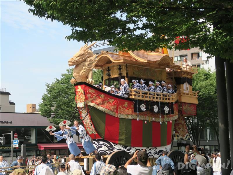 เทศกาลกิออน (Gion Festival)1