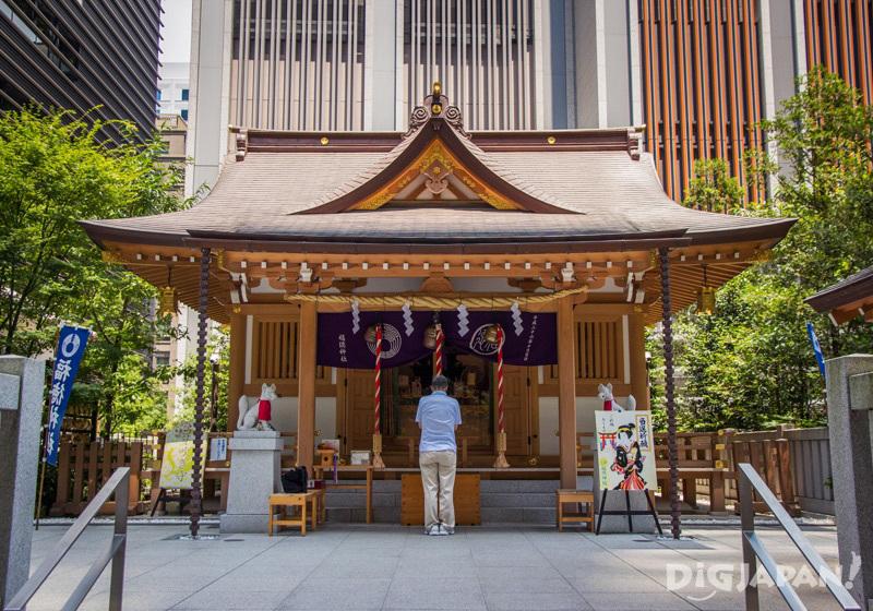 Fukutoku Shrine, Nihonbashi, Tokyo