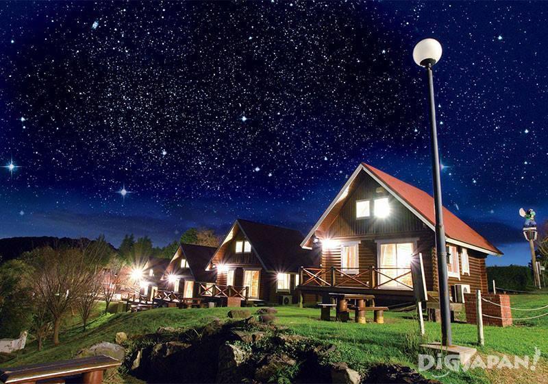 ถ้าจะค้างคืนต้อง The forest Atago Tengu Sky Lodge