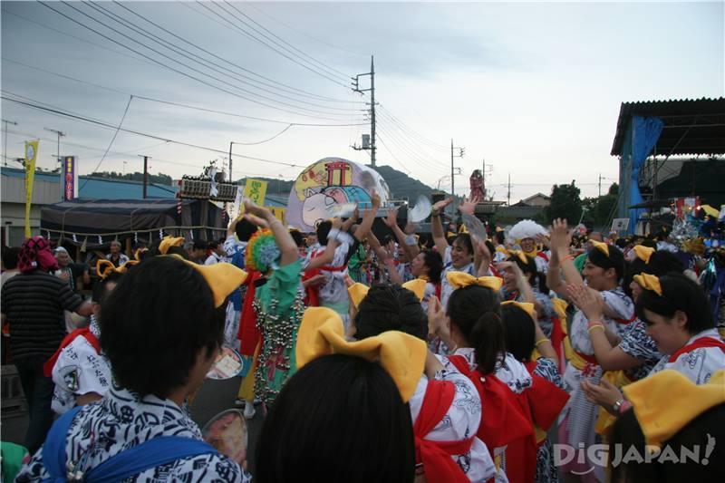 เทศกาลเมืองคะซะมะในเดือนสิงหาคมของทุกปี