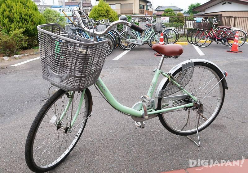 觀光服務中心租自行車02