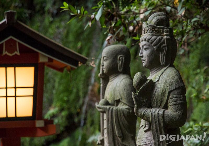 Todoroki Shrine Statues