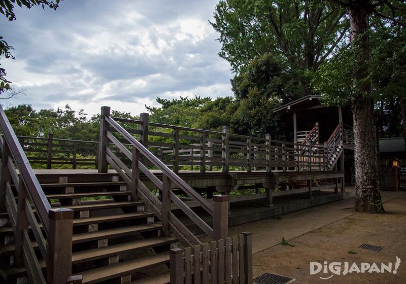 Todoroki Fudoson temple wooden structure