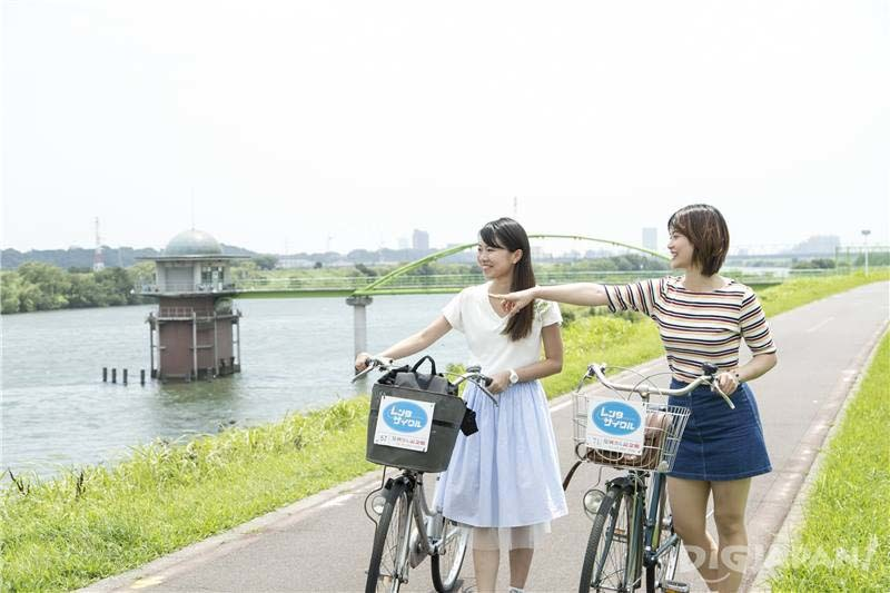 Explore Shibamata on a Bike