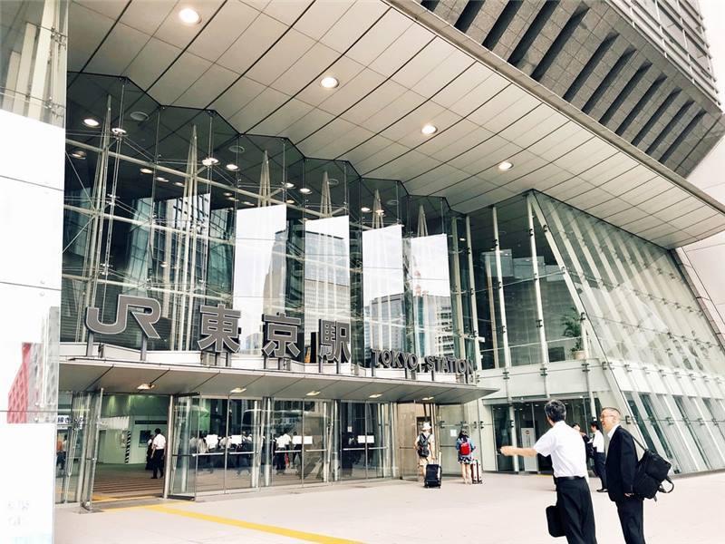 從JR東京車站的「日本橋口」出發到飯店徒步只要11分鐘