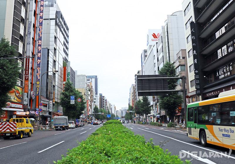 Asakusabashi Edo-dori street
