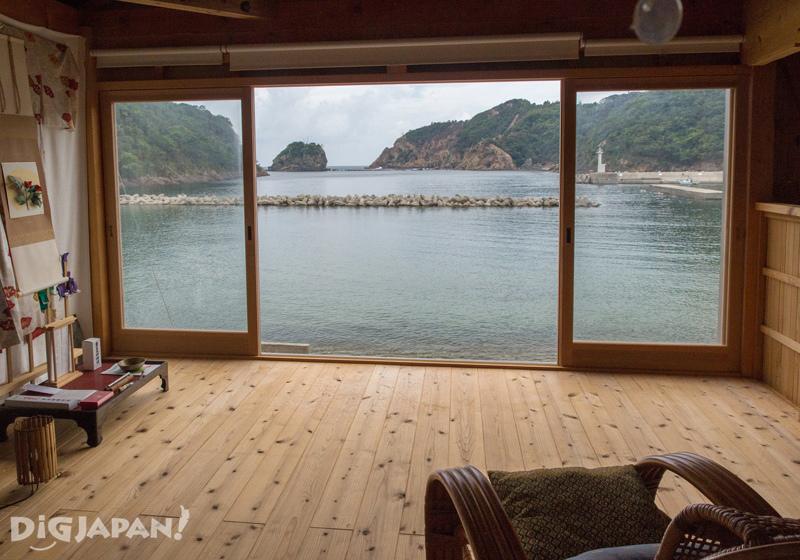 Guest Salon Tsubakisha in Sagiura, Shimane Prefecture