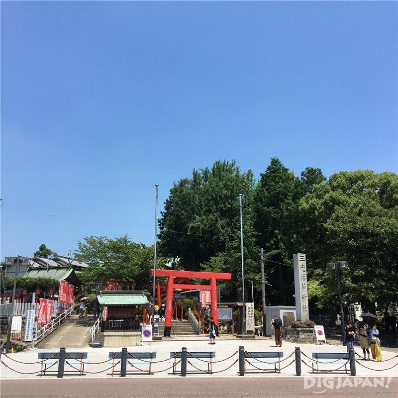 Sanko Inari Shrine in Inuyama