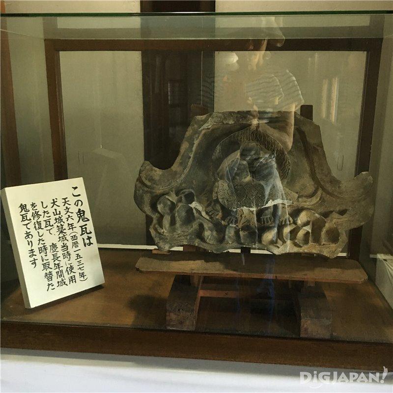 Exhibition corner at Inuyama Castle