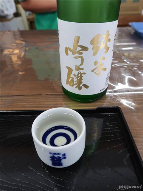 有料試飲 松緑純米吟醸