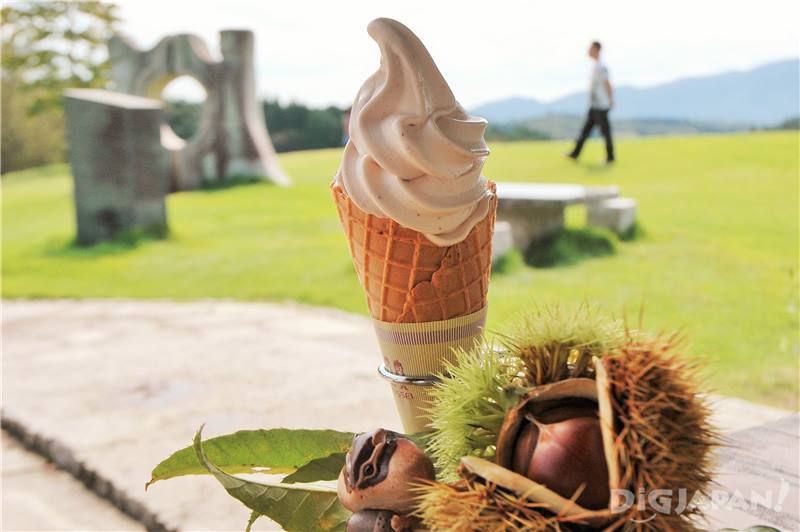 Kasama Craft Hills chestnut ice cream