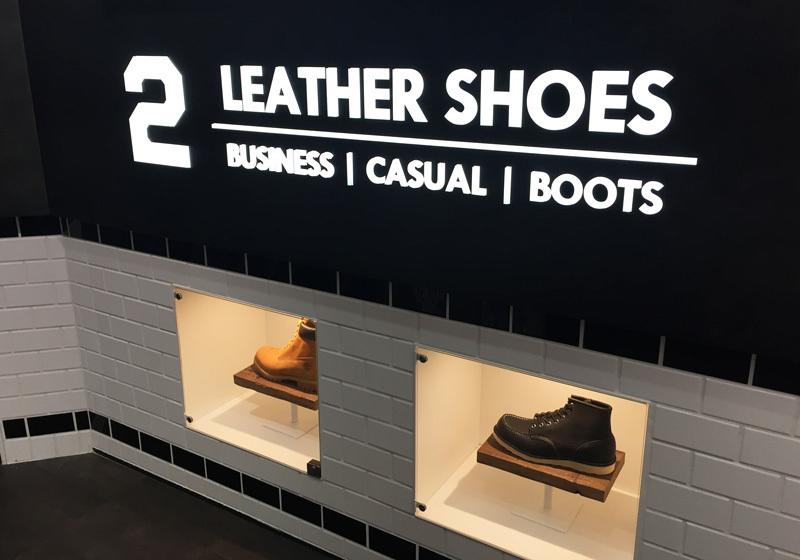 2F:休闲鞋和皮鞋
