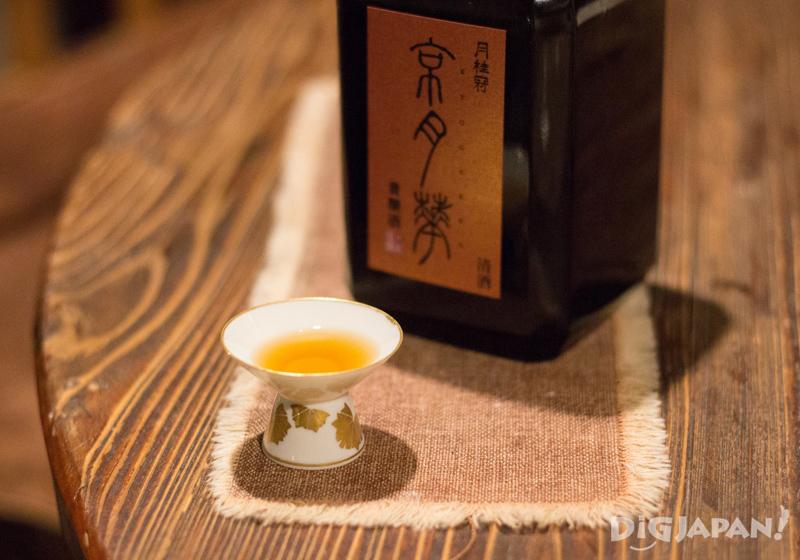 Aged sake at Shimada Shoten