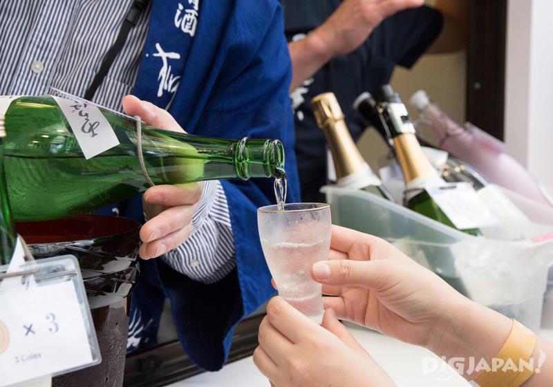 Craft Sake Week at Roppongi Hills