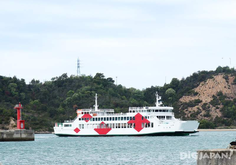 Setouchi Triennale, island-connecting ferry