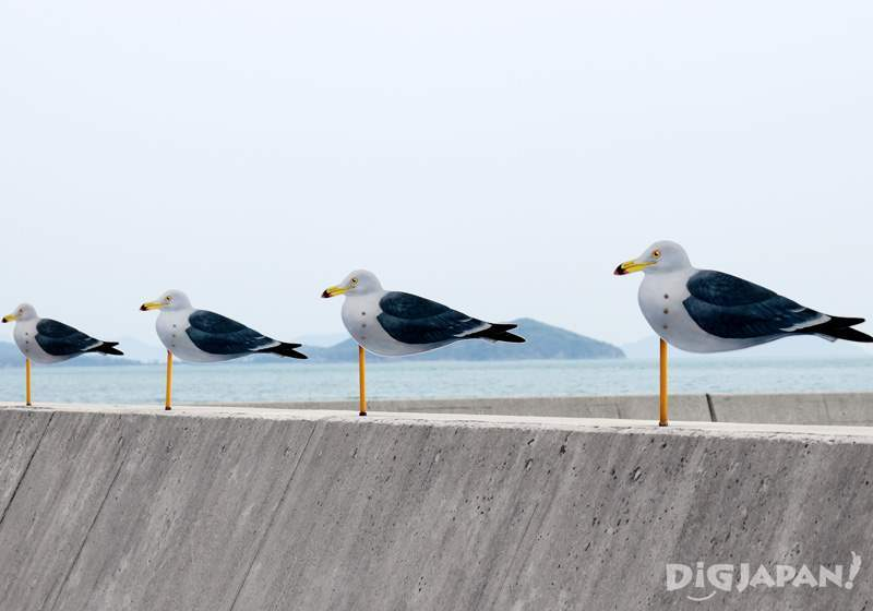 """Sea Gulls Parking Lot"" by Takahito Kimura"