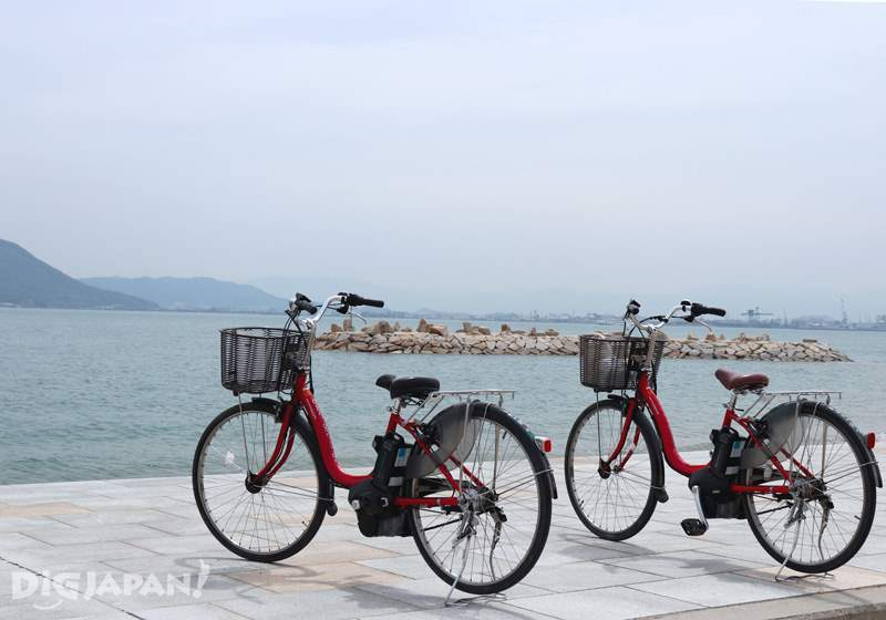 Setouchi Triennale, bicycle rental