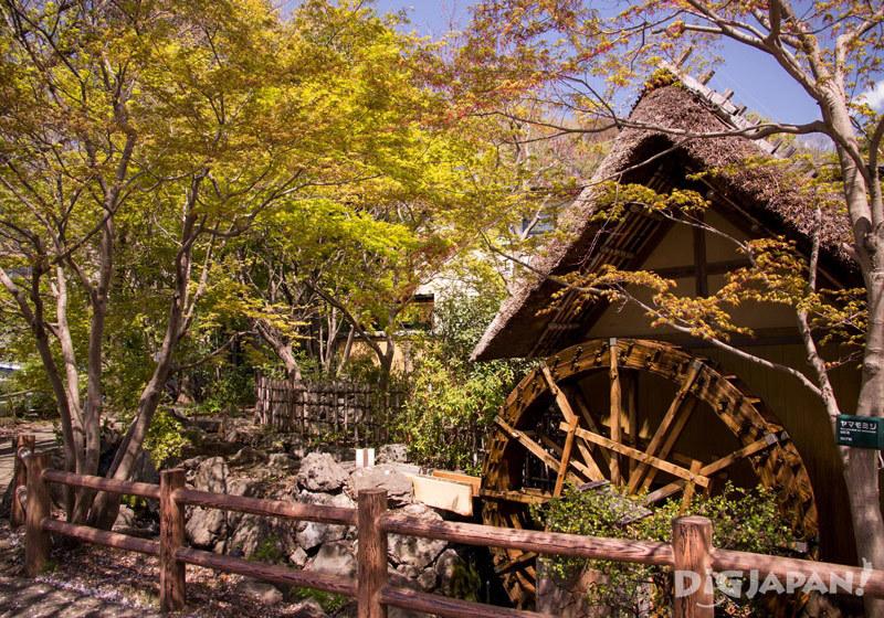 Waterwheel by Jindaiji Temple, Chofu, Tokyo