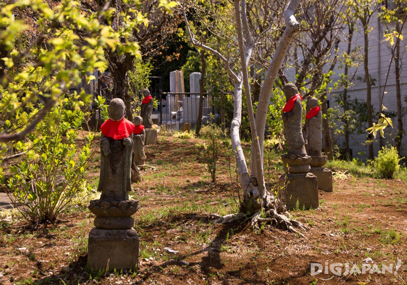 Jizo Village near Jindaiji Temple