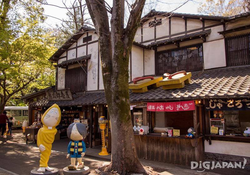 Kitaro Chaya at Jindaiji, Chofu