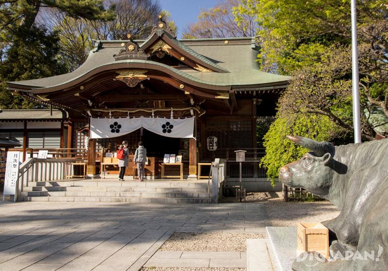 Fudaten Shrine in Chofu, Tokyo