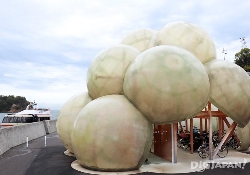 """Naoshima Port Terminal"" by KAZUYO SEJIMA + RYUE NISHIZAWA / SANAA"