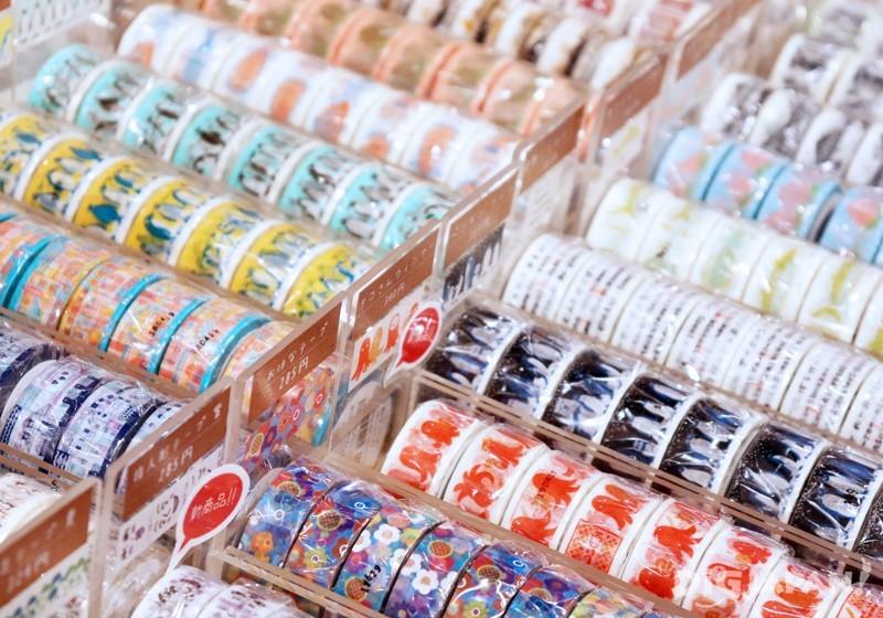 Masking tape at Nyochikudo, Kurashiki