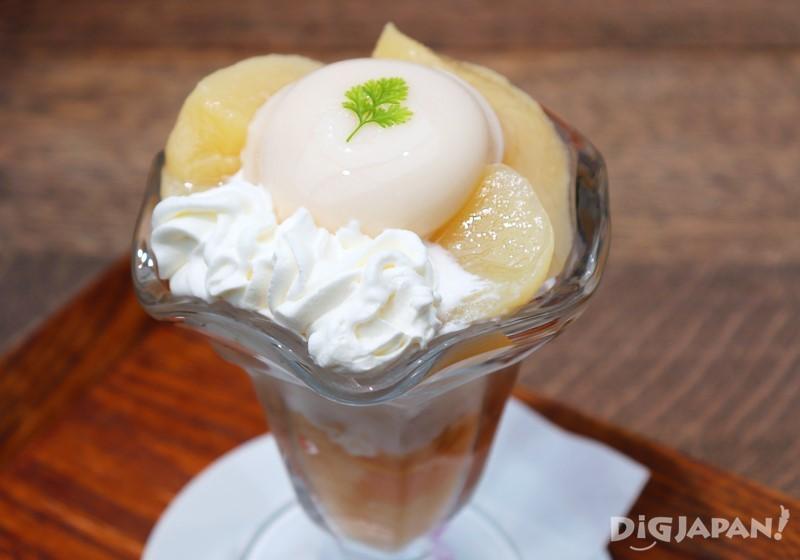 倉敷桃子的芭菲冰淇淋