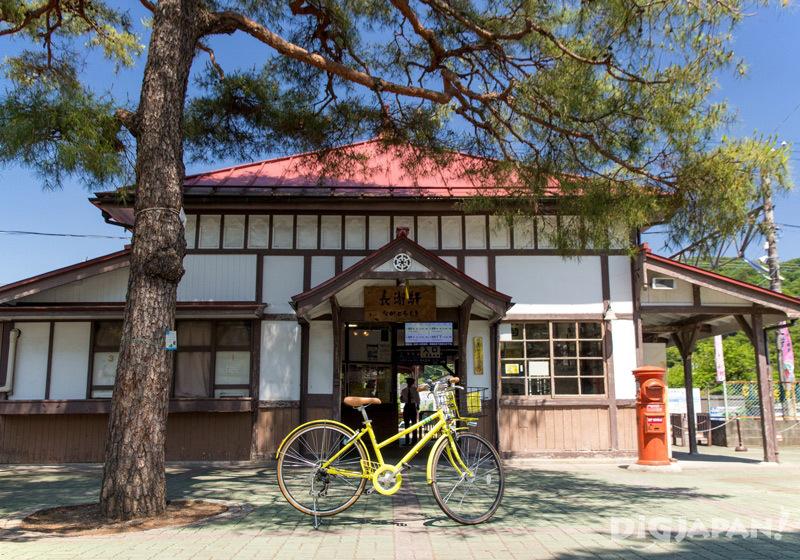 Nagatoro station rental bicycle