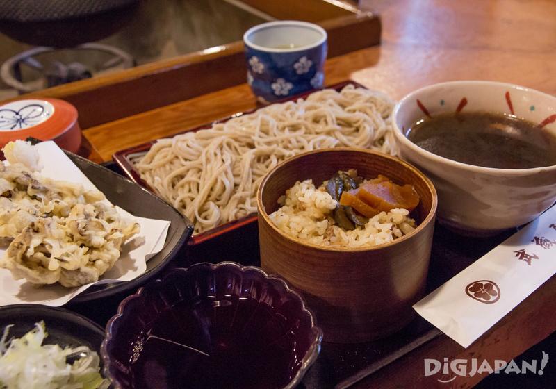 Musashiya osusume soba set