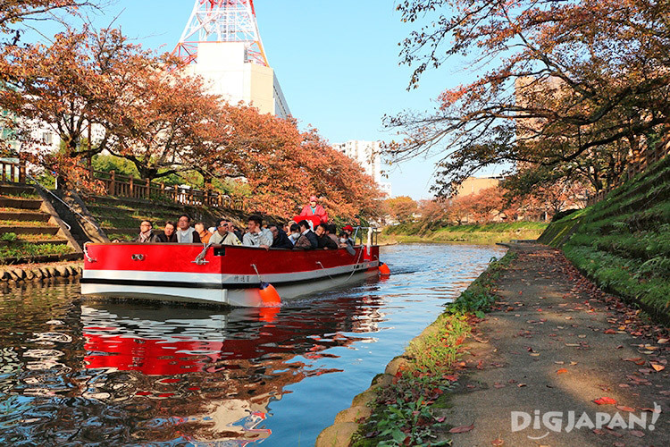 Matsukawa River Cruises autumn