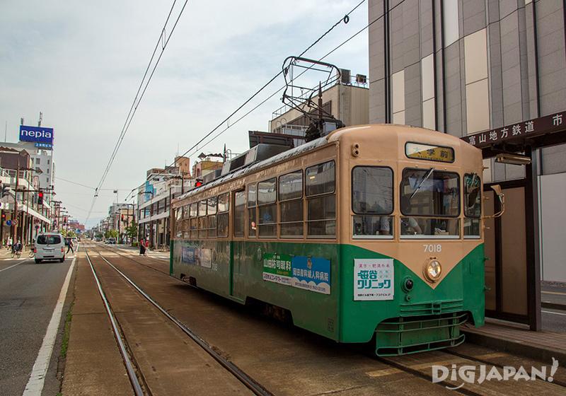 Toyama City transportation