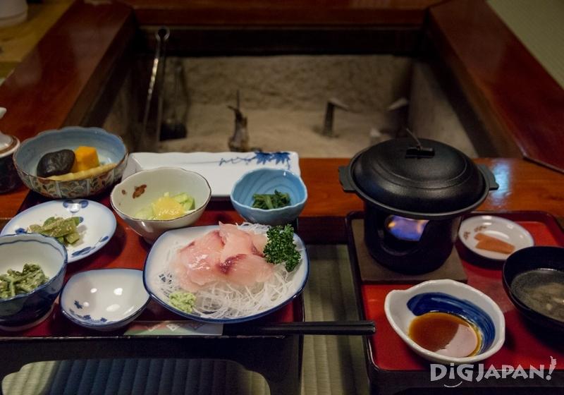Gassho Style Inn food