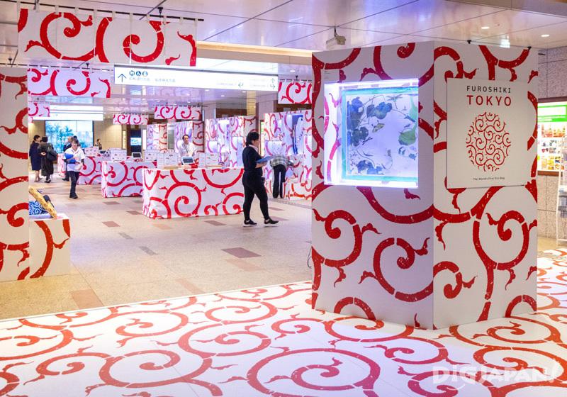 NIHONBASHI MEGURU FES 2019 tenugui exhibition