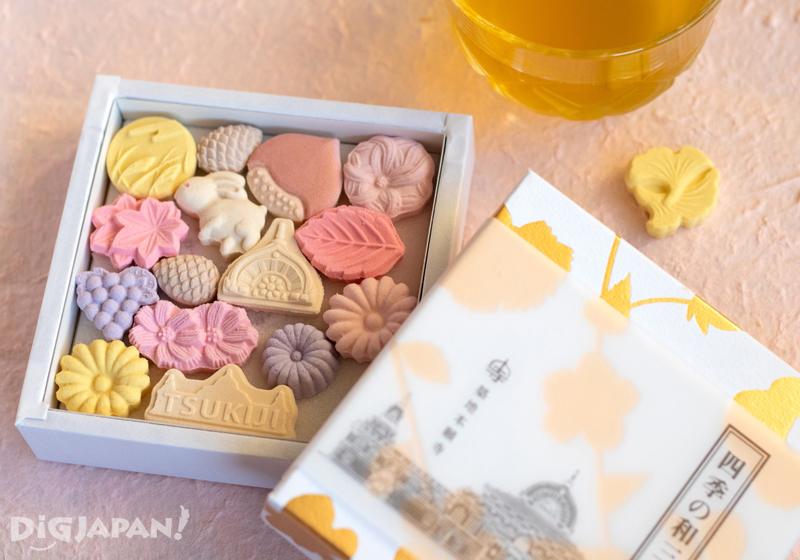 Tsukiji Hongwanji wasanbon sweets