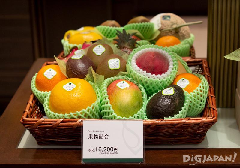 Fruit assortment at Sembikiya