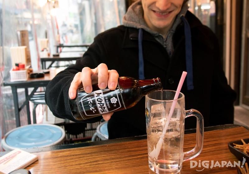 Asakusa Hoppy Street, drinking Hoppy