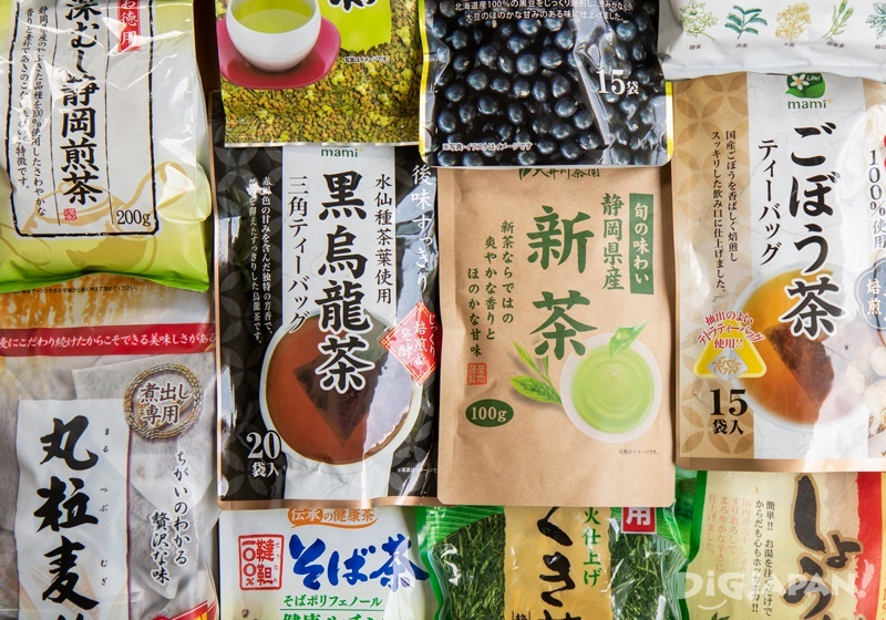 Japanese teas that are sold in supermarkets