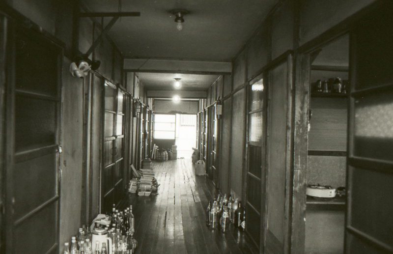 トキワ荘80年代前半の当時の廊下