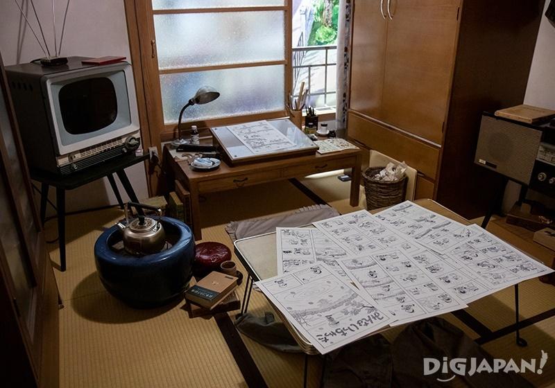 豊島区立トキワ荘マンガミュージアム_よこたとくおの部屋