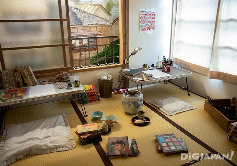 豊島区立トキワ荘マンガミュージアム_山内ジョージの部屋