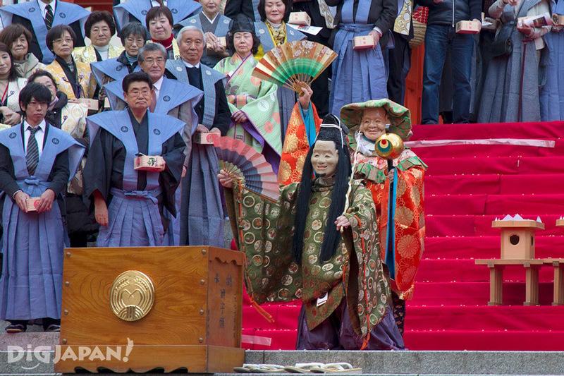 Setsubun, the Seven Lucky Gods