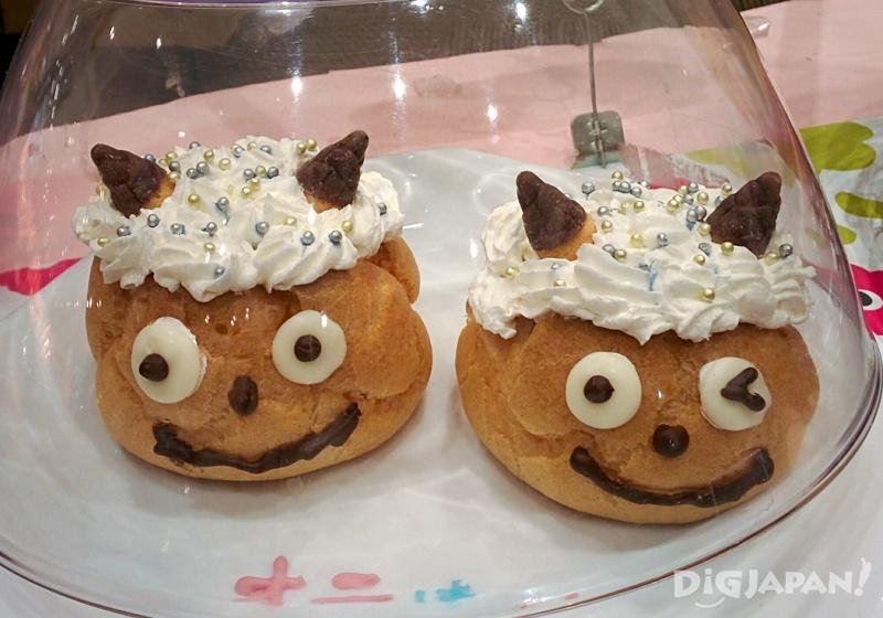 Setsubun cream puffs