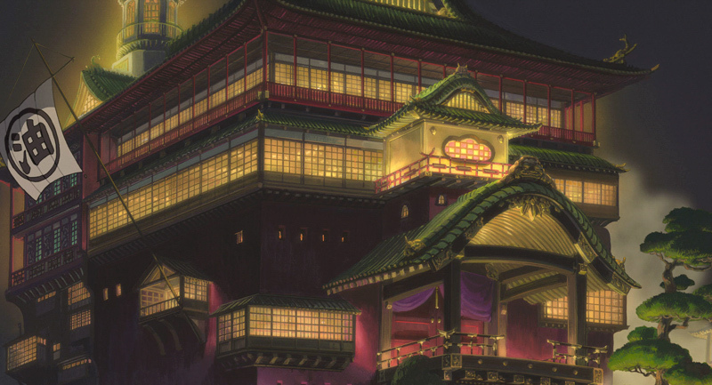 Spirited Away: the Bathouse