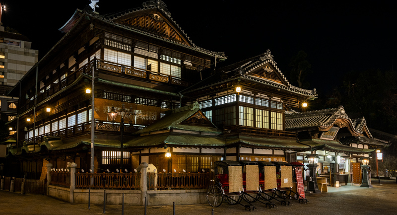 Dogo Onsen Honkan bathhouse