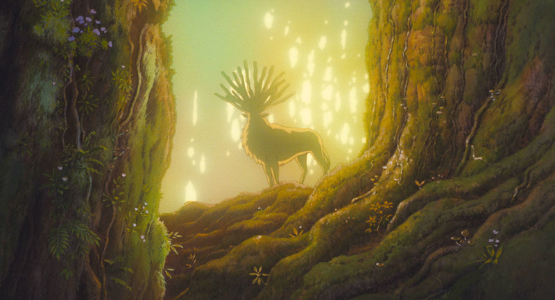 Princess Mononoke: the Forest