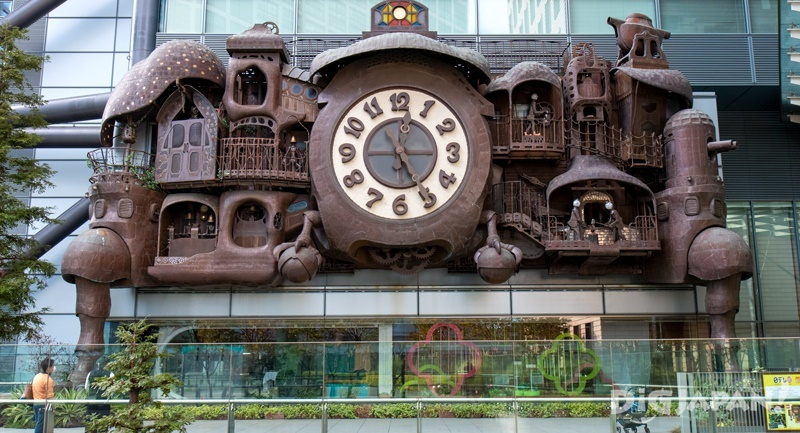 Howl's Moving Castle: the Giant Ghibli Clock
