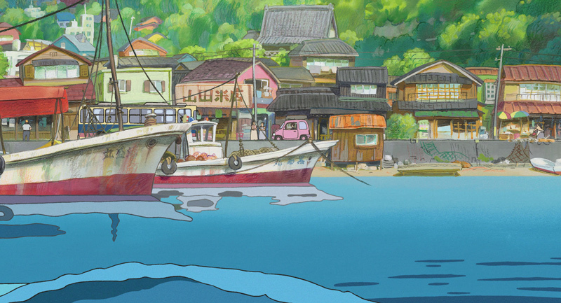 Ponyo on the Cliff by the Sea: Ponyo's Island
