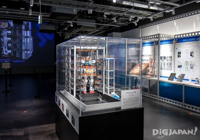 Gundam Exhibition inside Academy 2