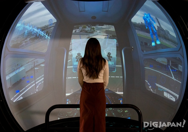 GUNDAM Pilot View SoftBank 5G EXPERIENCE